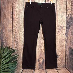 Ralph Lauren Jeans 12P Purple Straight Leg